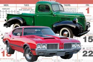 Custom Printed Automotive Calendars For Business Promotions