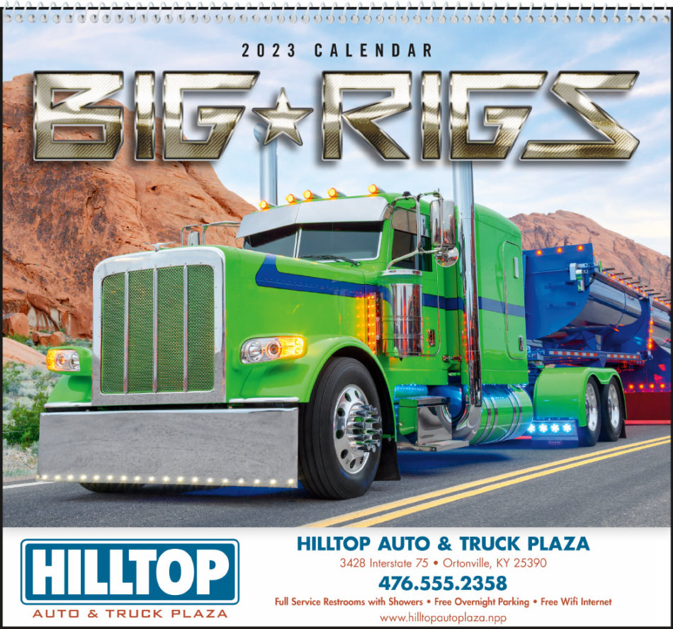 Big Rigs Promotional Calendar