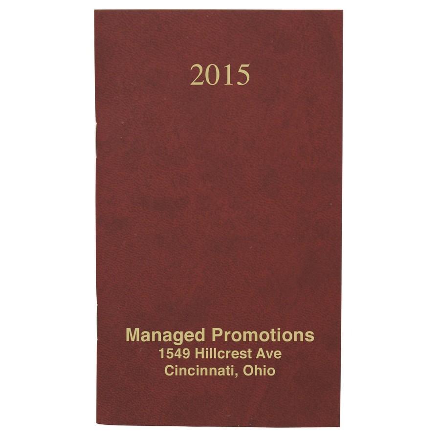 Monthly Pocket Planner Velvet Cover