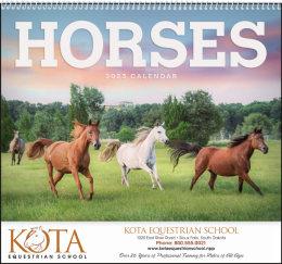 Horses Promotional Calendar