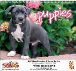 Puppies Promotional Calendar