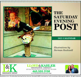 The Saturday Evening Post Promotional Calendar