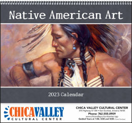 Native American Art Promotional Calendar