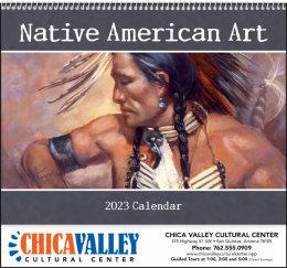 Native American Art Promotional Calendar