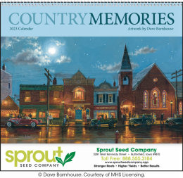 Country Memories Promotional Calendar