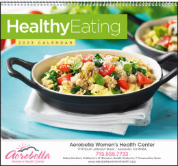 Healthy Eating Promotional Calendar