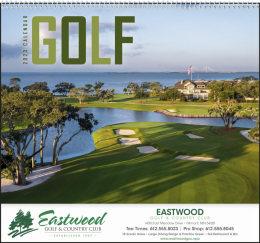 Golf Promotional Calendar
