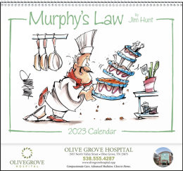 Murphys Law Promotional Calendar