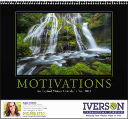 Motivation Quotes Promotional Calendar,