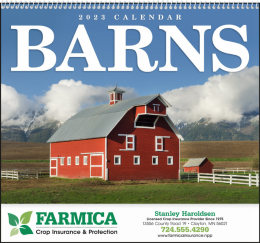 Barns Promotional Calendar