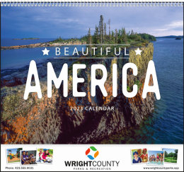 Beautiful America Promotional Calendar