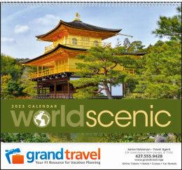 World Scenic Promotional Calendar