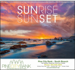 Sunrise Sunset Promotional Calendar