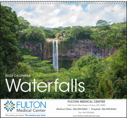 Waterfalls Promotional Calendar