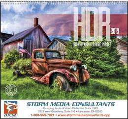HDR High Dynamic Range Images Promotional Calendar