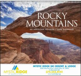 Rocky Mountains Promotional Calendar