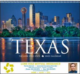 Texas State Promotional Calendar