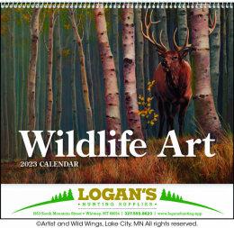 Wildlife Art Calendar Spiral