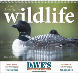 North American Wildlife Promotional Calendar