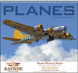 Planes Promotional Calendar