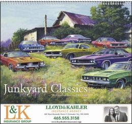 Junkyard Classics by Dale Klee Art Calendar