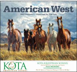 American West Art Calendar, Spiral