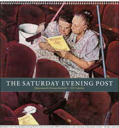 The Saturday Evening Post Large Format Calendar