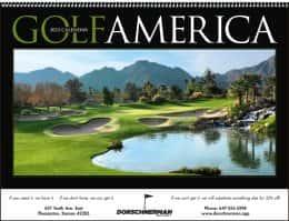 Golf America Promotional Calendar