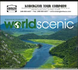 World Scenic Promotional Calendar