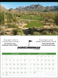 Executive Golf Promotional Calendar
