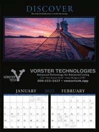 Motivations 2 Month View Commercial Calendar