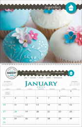 Small Quantity Custom Appointment Calendar 11 x 17