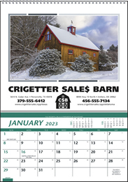 Farm Pocket Promotional Calendar 2019