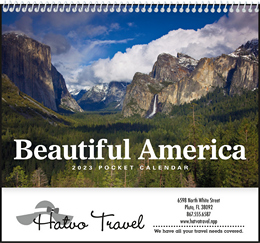 Beautiful America Pocket Promotional Calendar