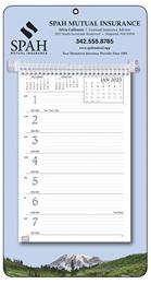 Mountains Theme Weekly Memo Calendar