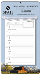Promotional Weekly Memo Calendar  - Rural