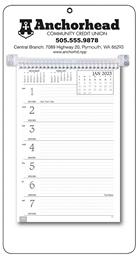 Weekly Memo Promo Calendar White Mount