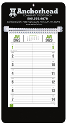 Bi-Weekly Memo  Promotional Calendar- Black
