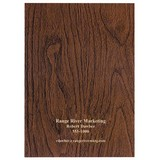 Docket Woodgrain 7 x 10 Planner Monthly