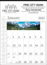 Decorator Memo Calendar White Background