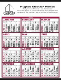 Year In View Commercial Calendar Big Numbers, Size 22