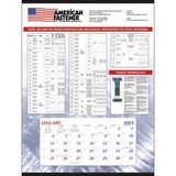 Mount with Custom Grid, Large Promotional Calendar