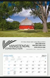 Large Hanger Promotional Calendar  - Summer Barn 18x28