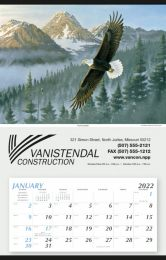 Large Single Image Calendar with Bold Eagle, Size 18x28
