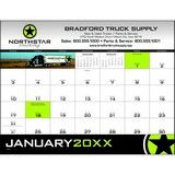 Custom Four-Color Desk Pad Promotional Calendar