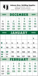 3-Month Promo Calendar with Julian Dates