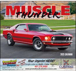 Muscle Thunder - Promotional Calendar  Spiral