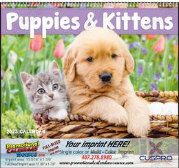Puppies & Kittens Promotional Calendar  Spiral