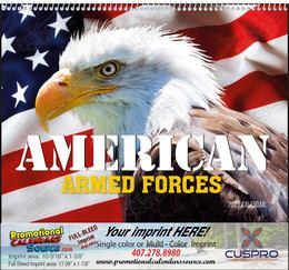 American Armed Forces Calendar, , Spiral