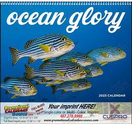 Ocean Glory Promotional Calendar  Spiral